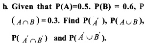 HSSlive Plus One Maths Chapter Wise Previous Questions Chapter 16 Probability 4