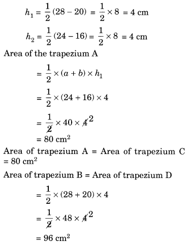NCERT Solutions for Class 8 Maths Mensuration Ex 11.2 Q11.1