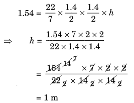 NCERT Solutions for Class 8 Maths Mensuration Ex 11.4 Q5