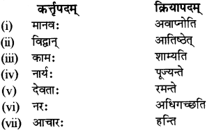 RBSE Solutions for Class 12 Sanskrit Chapter 3 मानवधर्मः 11