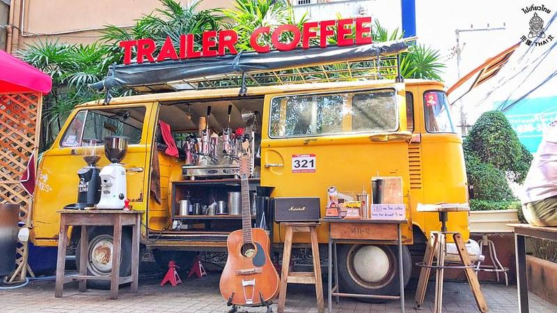 [清邁]燒光積蓄的夢想文青網紅咖啡店 《Trailer Coffee》