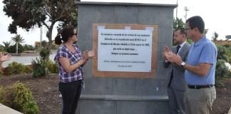 Emotivo homenaje en Gáldar a las víctimas del accidente del vuelo de Spanair JK5022