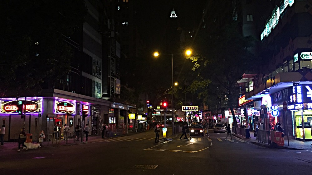6 Nov 2015: Lockhart Road | Wan Chai, Hong Kong, China