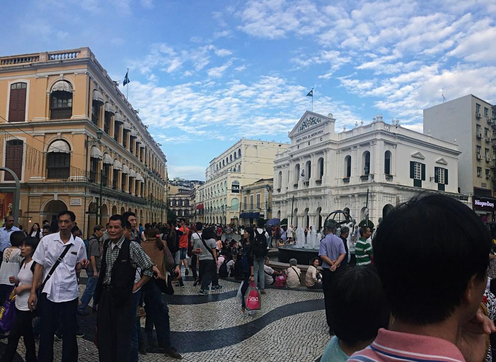 6 Nov 2015: Senado Square | Macau, China