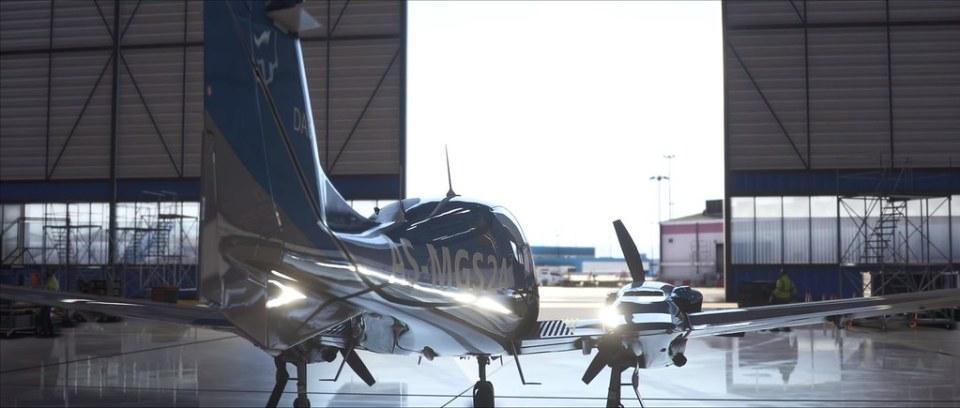 Microsoft Flight Simulator - 격납고