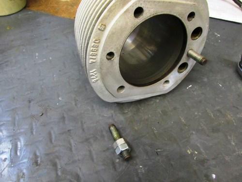 Cylinder Stud Removed
