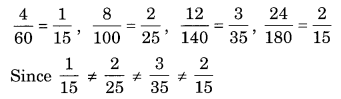 NCERT Solutions for Class 8 Maths Chapter 13 Direct and Inverse Proportions Q1.1