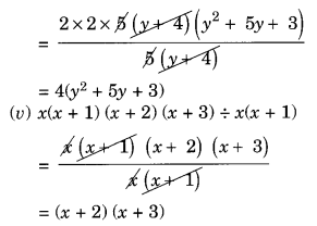 NCERT Solutions for Class 8 Maths Factorisation Ex 14.3 Q4.1