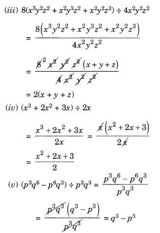 NCERT Solutions for Class 8 Maths Factorisation Ex 14.3 Q2.1