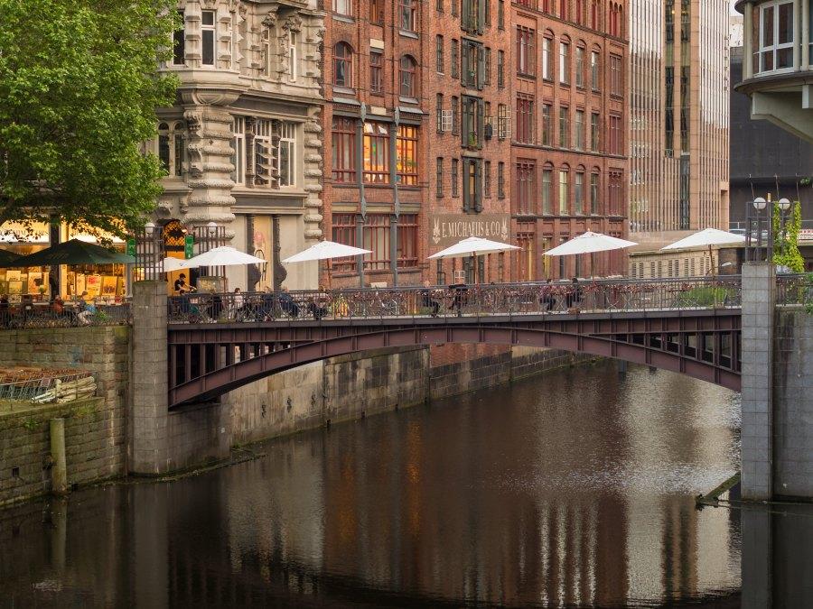 Michaelisbrücke: bijzondere bruggen in Hamburg   foto Torsten Schlüter