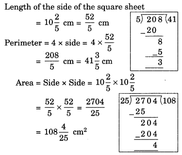 Fractions and Decimals Class 7 Extra Questions Maths Chapter 2 Q9