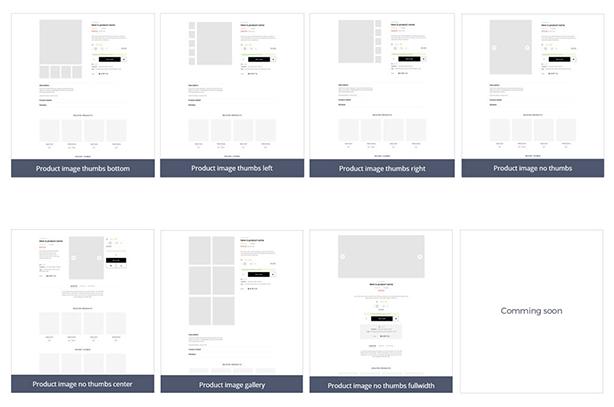Product sheet is impressive design