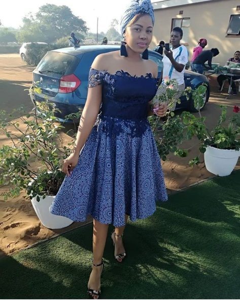 south african shweshwe traditional dresses designs  reny