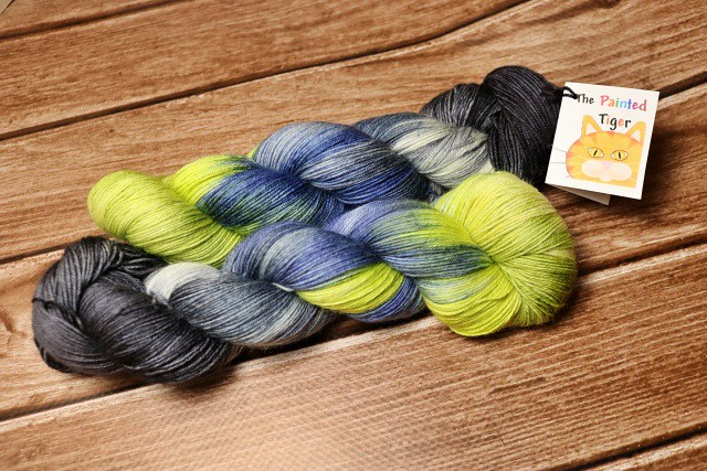 Severe Weather Warning Bengal Sock Yarn - Tiger Club May 2019