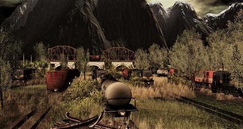 Trains..