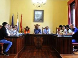 El Ayuntamiento de Agaete celebra el último pleno del presente Mandato