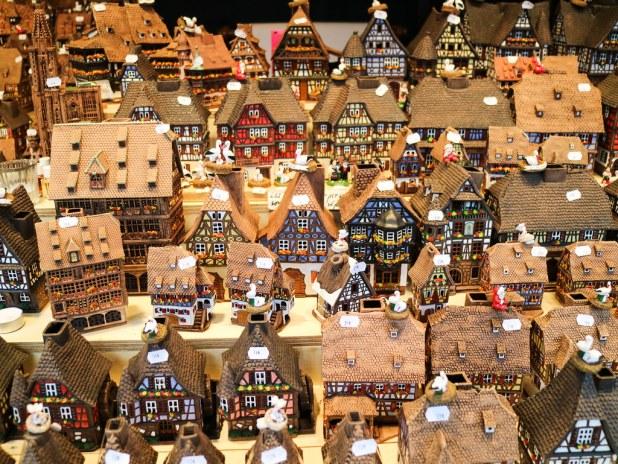 Recuerdos y compras en Alsacia en Navidad