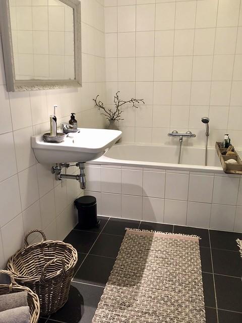 Landelijke badkamer decoratie