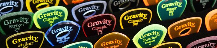 Gravityピックラインナップ