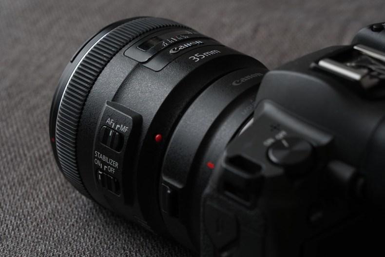 EOS R / EF 35mm f/2 IS USM