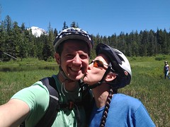 Kisses & Mountain Biking with my Family