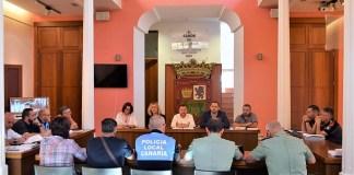 Celebrada la Junta de Seguridad de las Fiestas de Santiago 2019