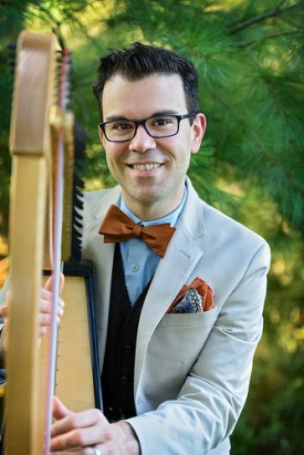 Jason McKinney, harp