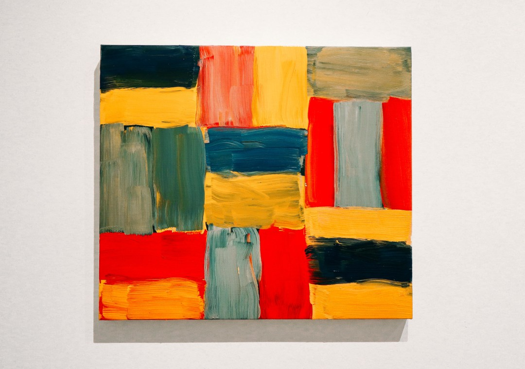 Wall of Light, Sean Scully