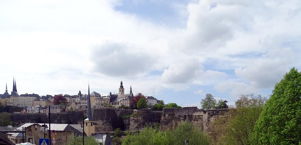 Casamatas del promontorio de Bock Chemin de la Corniche Balcon de Europa y Ciudad Alta ciudad de Luxemburgo 02