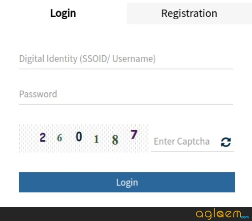 RAS Mains Admit Card Login