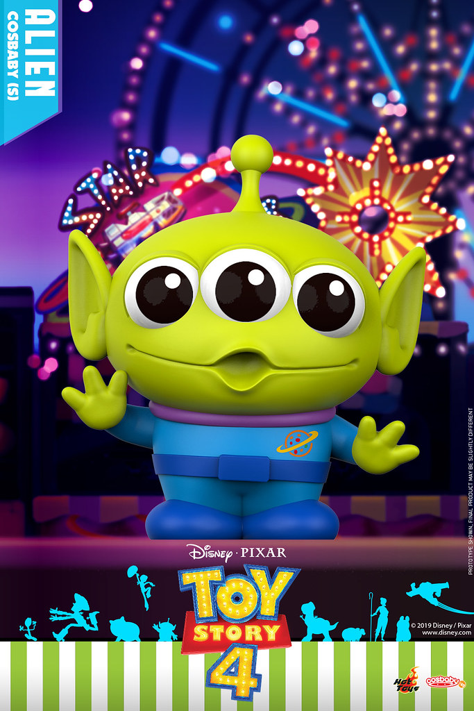 收錄多位全新角色! Hot Toys – COSB602 - COSB615 –《玩具總動員4》Toy Story 4 Cosbaby (S) | 玩具人Toy People News