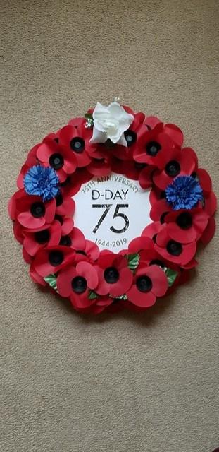dday wreath