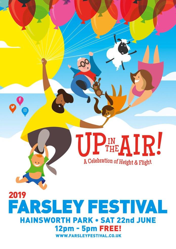 Farsley Festival 2019 official flyer