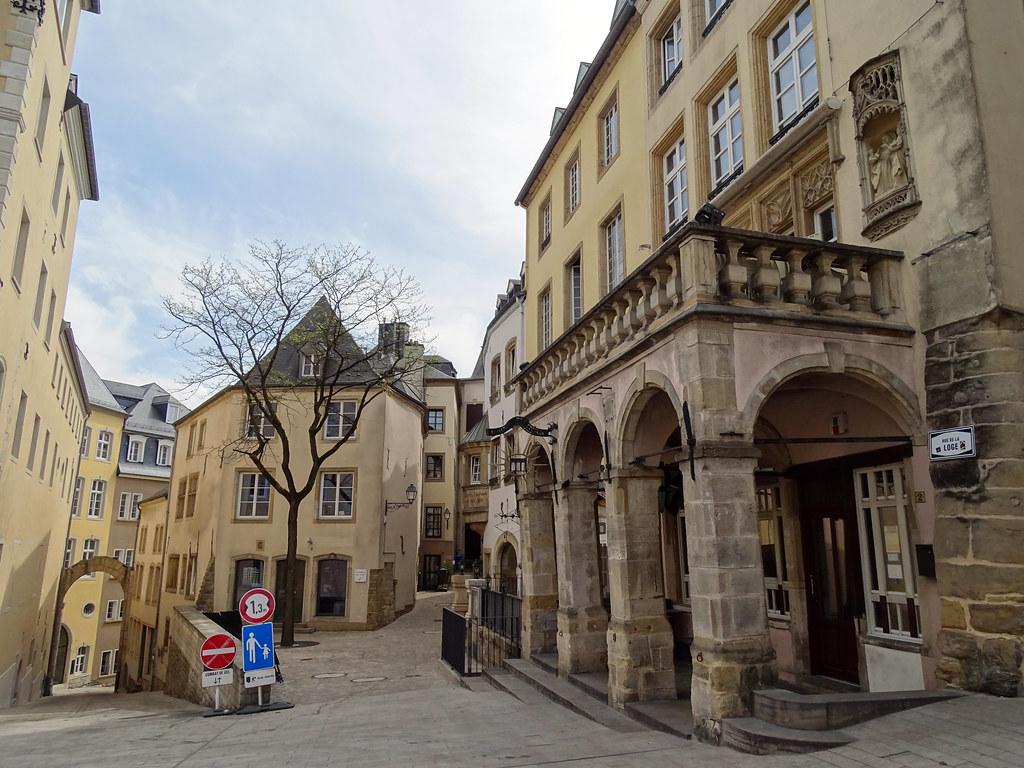 edificios rue de la Loge Ciudad Alta Luxemburgo 02