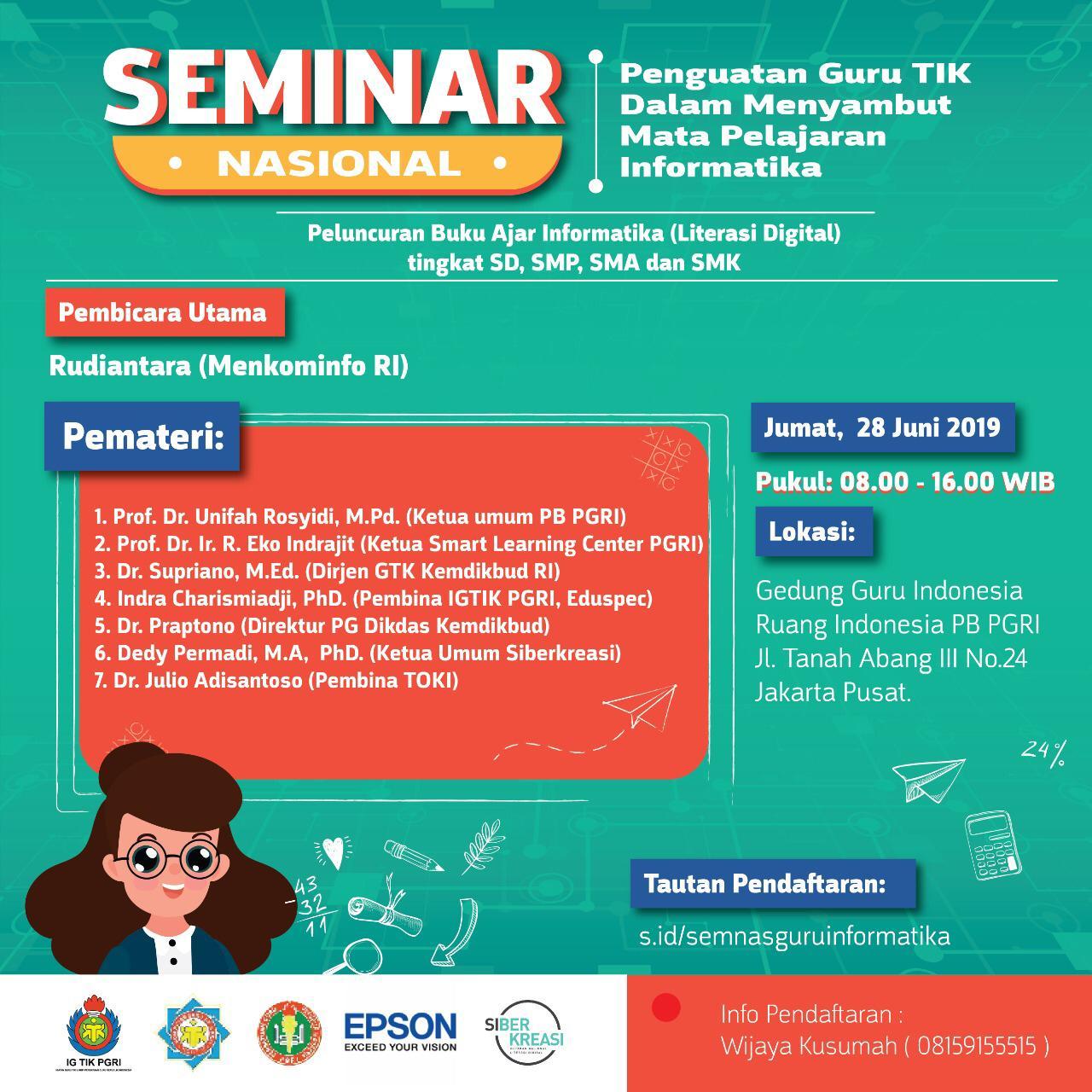 seminar nasional tik pgri