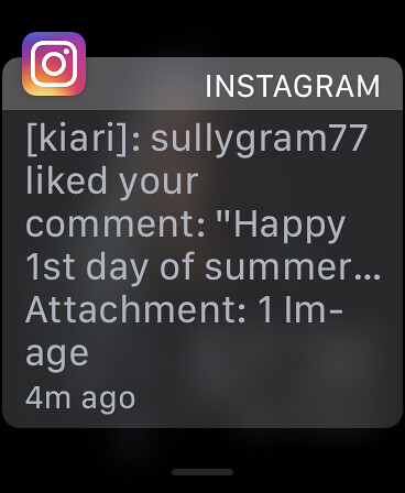 I like when he likes my comments