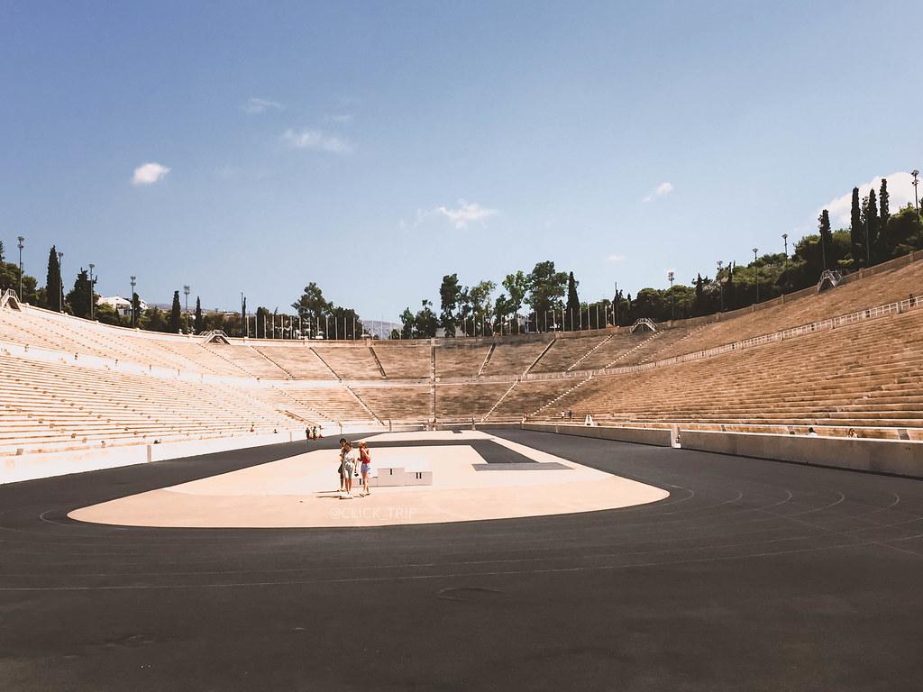 · Estadio Panatenaico · Ruta por Grecia ·