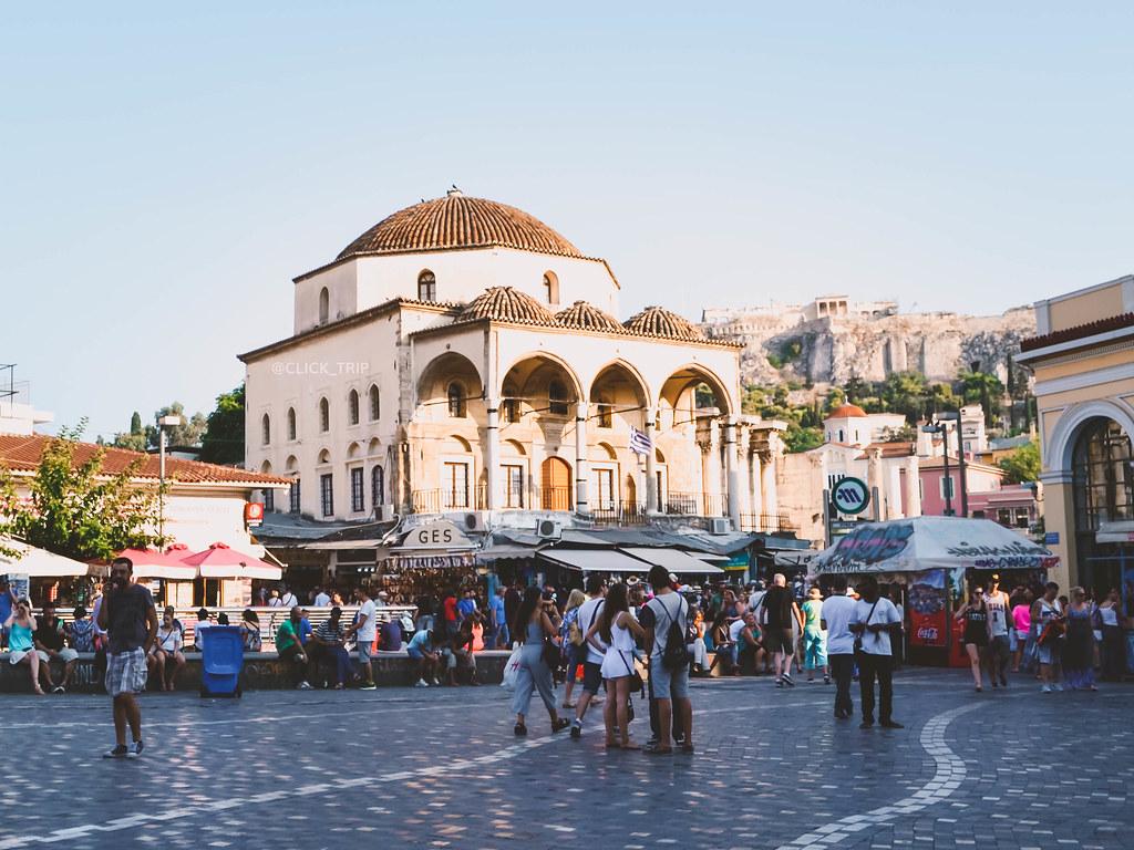 · Qué ver en Atenas · Plaza Monastiraki ·