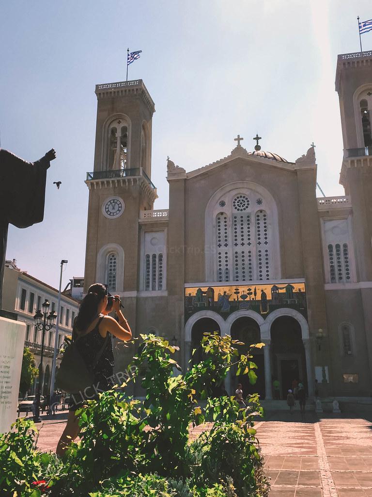 Rincones de Atenas | Catedral Católica | ¿Qué ver en Atenas (Grecia)? | ClickTrip
