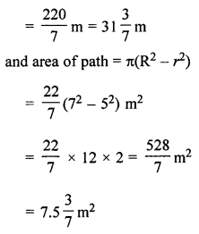 ML Aggarwal Class 7 Solutions for ICSE Maths Chapter 16 Perimeter and Area Ex 16.3 Q16.1