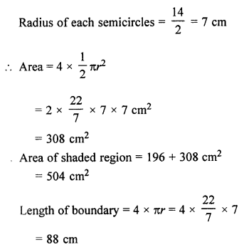 ML Aggarwal Class 7 Solutions for ICSE Maths Chapter 16 Perimeter and Area Ex 16.3 Q19.3