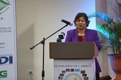 Canadian High Commissioner to Guyana, HE Lilian Chatterjee.