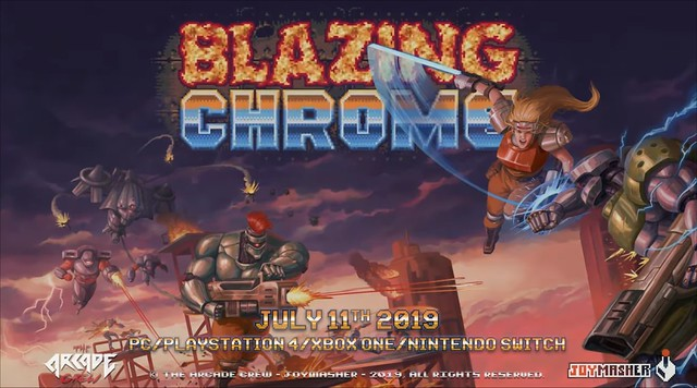 Blazing Chrome - Release Date