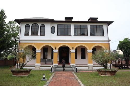 台南柳營「劉啟祥故居/美術紀念館」:農村裡的洋樓