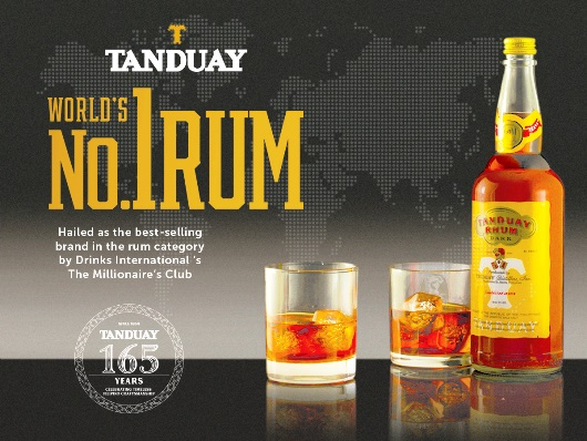 TANDUAY the no. 1 Rum