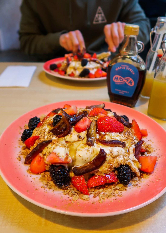 Vegan MOAK Pancakes in Amsterdam