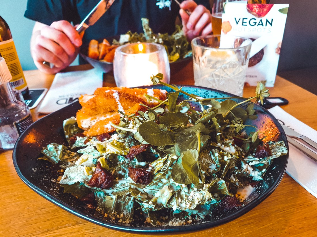 Vegan Lunch at Meatless District Amsterdam