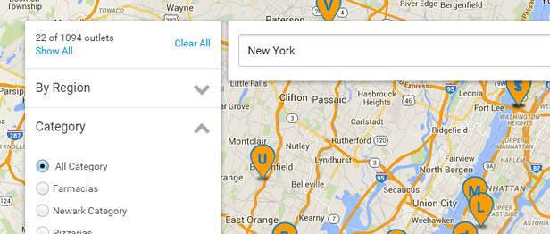 Top Notch Design Store Locator with Super Store Finder for WordPress