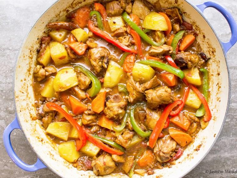 Rahila David's Tohogoshi Narin (Big Plate Chicken)