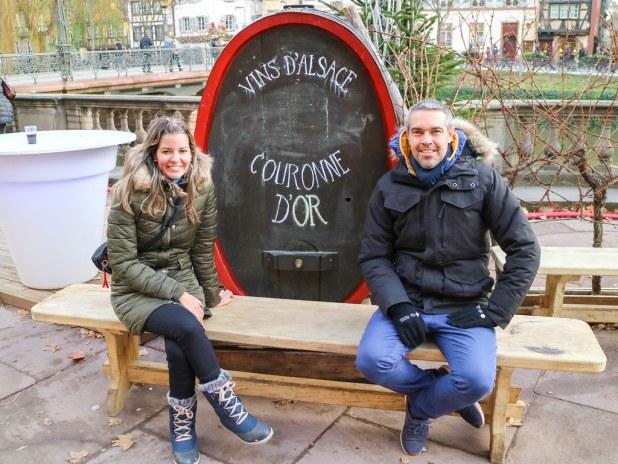 Cata de vinos de en un viaje a la Alsacia en 5 días
